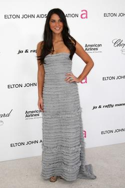Olivia Munn at the 18th Annual Elton John AIDS Foundation Oscar party.